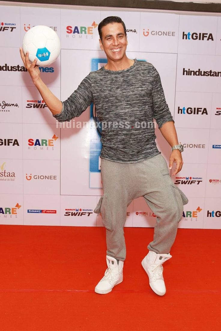 Akshay Kumar at the opening ceremony of Great India Football Action. #Bollywood #Fashion #Style #Handsome