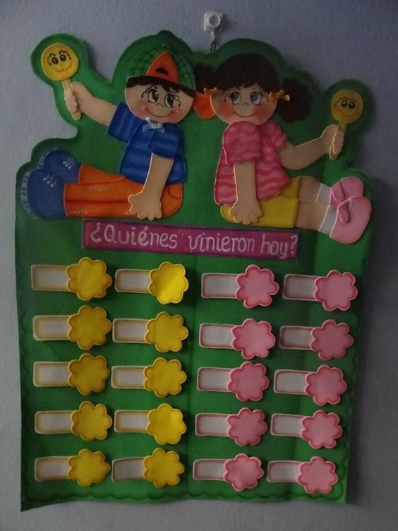 tableros de asistencia para preescolares - Buscar con Google: