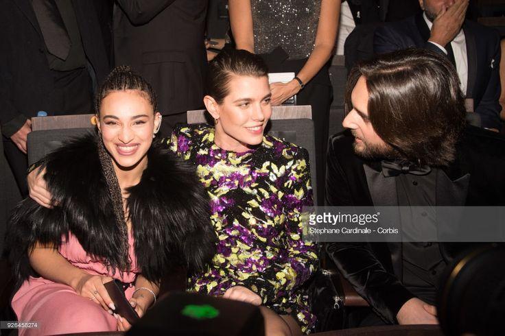 News Photo : Camelia Jordana, Charlotte Casiraghi and Dimitri...