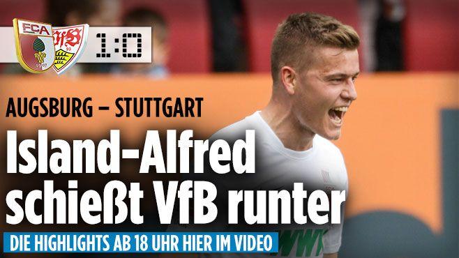 Bundesliga LIVE: Tabelle ++ Bundesliga Ergebnisse ++ NEWS - Bundesliga Saison 2015/16 http://www.bild.de/bundesliga/1-liga/saison-2015-2016/spielbericht-fc-augsburg-gegen-vfb-stuttgart-am-30-Spieltag-41833382.bild.html