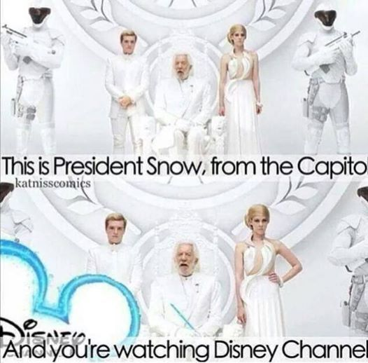 This is President Snow, from the Capito. And you're watching Disney Channel.
