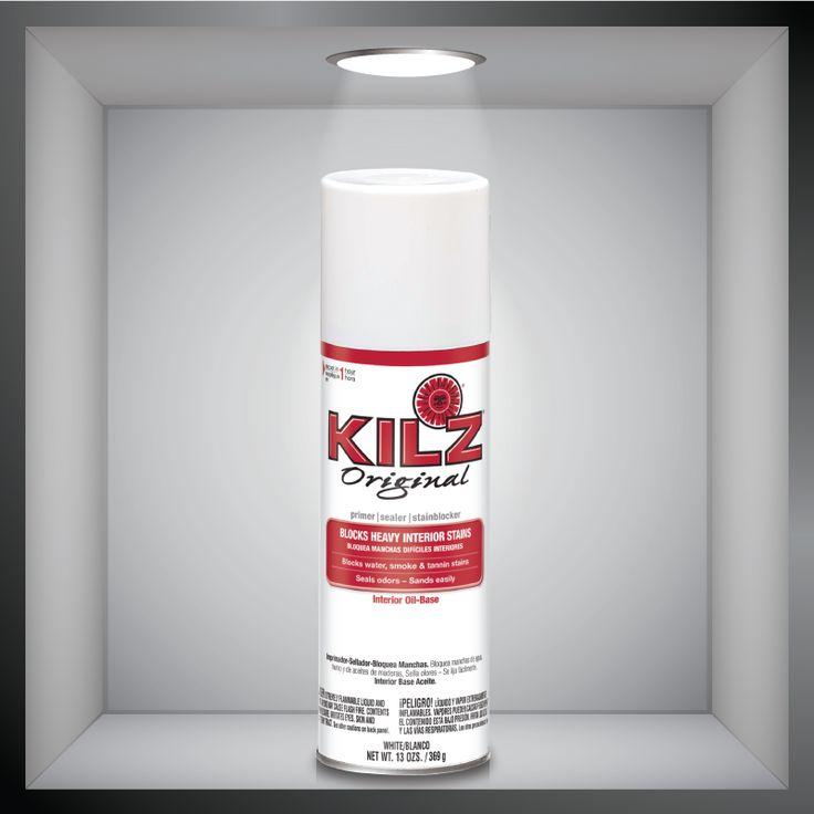 Spray Painting Kilz Max