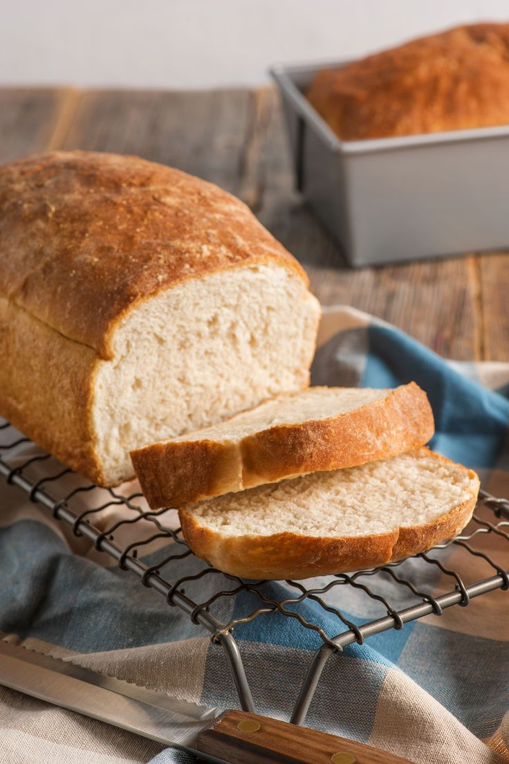 Homemade Fluffy White Bread | You just can't beat classic white bread - perfect for sandwiches, toast, and French toast.