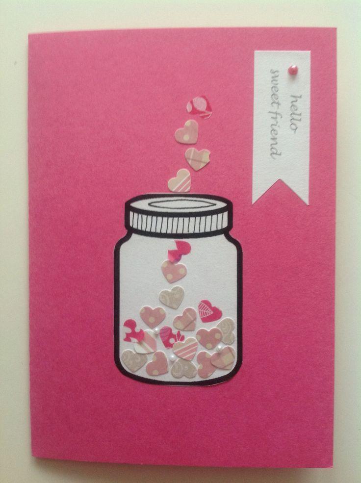 Ystävänpäiväkortti ystävälle, Valentine's day, friendship