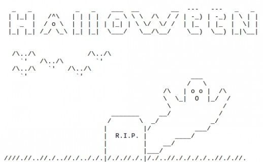One Line Ascii Art Knife : Ideas about ascii art on pinterest one line