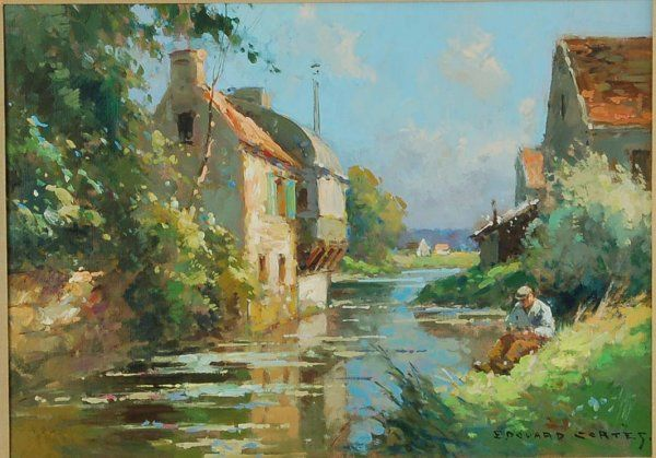 eduardo cortes artist and painter | 667: Edouard Cortes (French, 1882-1969)