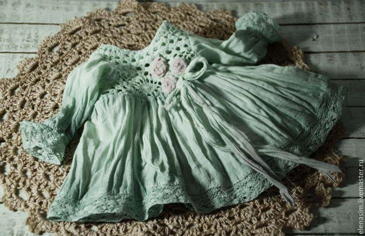 Купить Кристи - мятный, текстильная кукла, интерьер, интерьерная кукла, авторская ручная работа