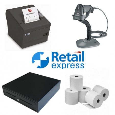 RETAIL EXPRESS POS HARDWARE BUNDLE #2