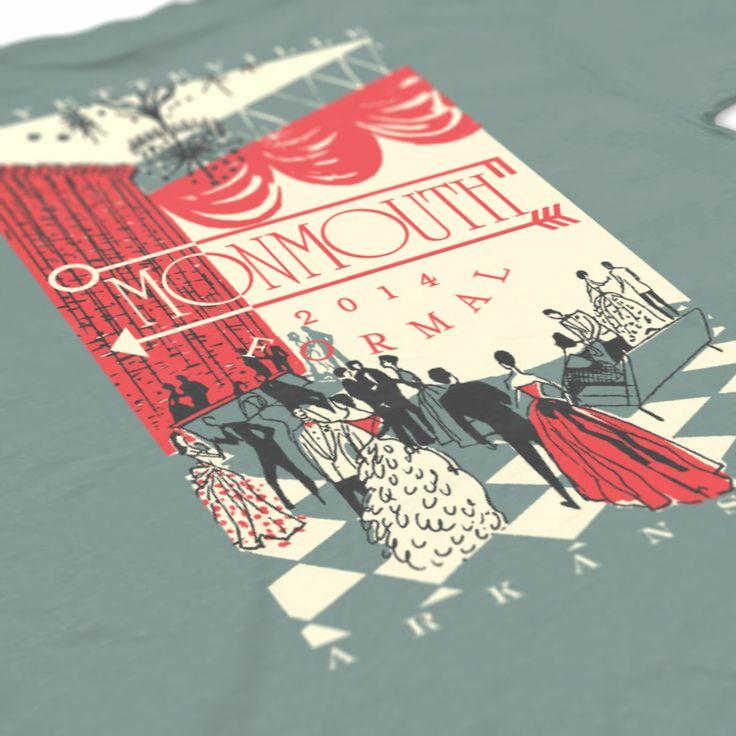 Kappa Kappa Gamma - KKG - Monmouth Formal Design - KKG shirts - KKG Formal - Sorority shirts - Check out b-unlimited.com!
