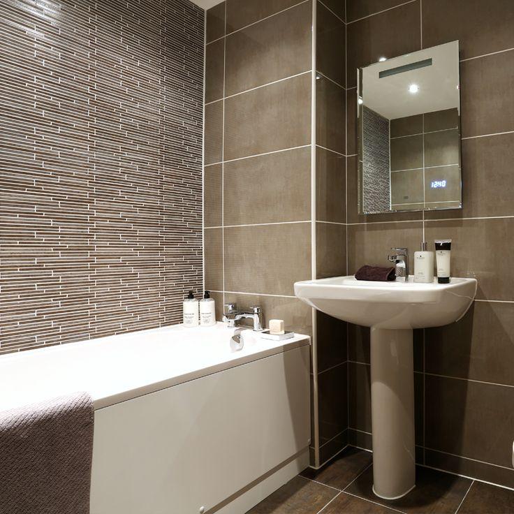 The family #bathroom with @villeroyandboch suite #Strata