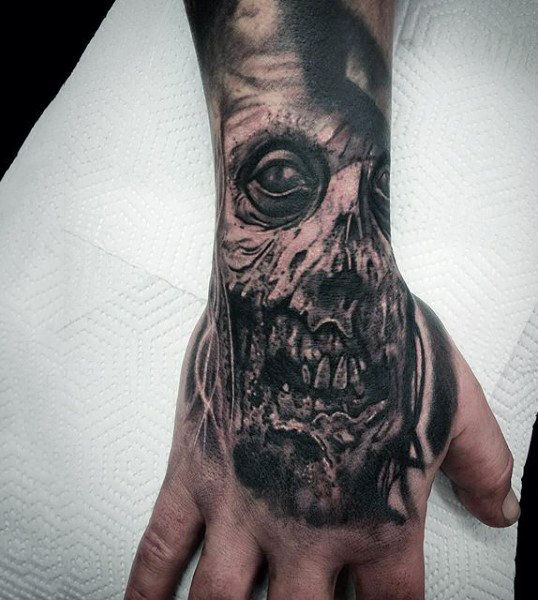 24 Best Zombie Tattoos For Men Images On Pinterest