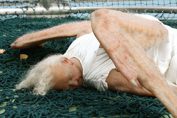 Hyper Realist Sculpture - Fallen Angel Project