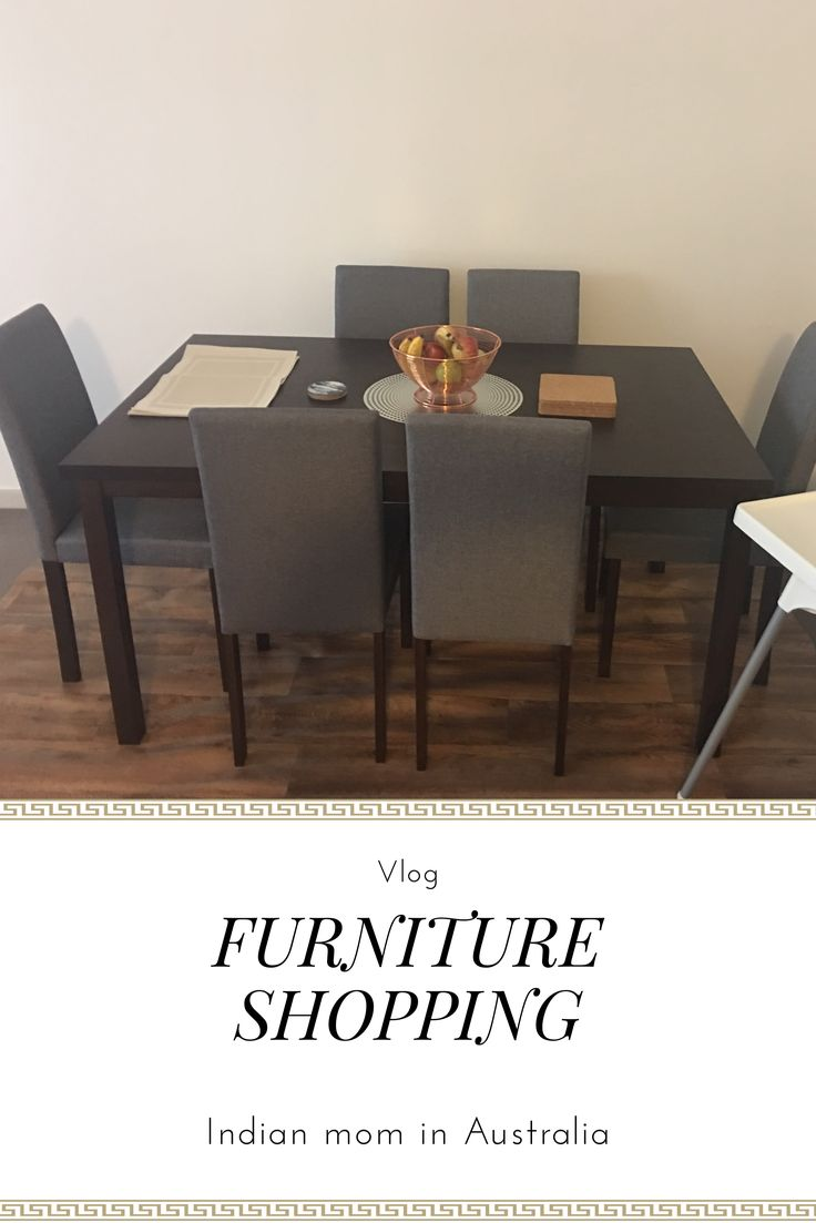Furniture shopping (dinning set ,sofa) and Microwave for our house vlog/ Indian MOM In AUStralia