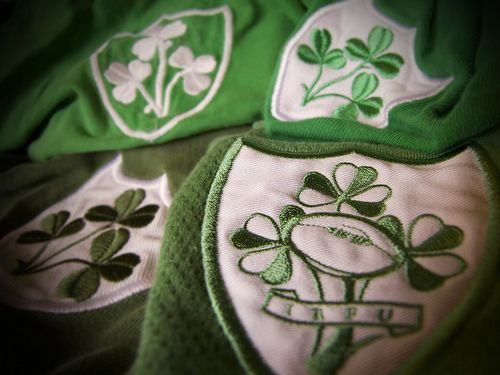 Irish rugby badges