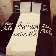 bulldog bed!!! SO ME!