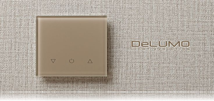 Выбор цвета панели - Сенсорные выключатели света