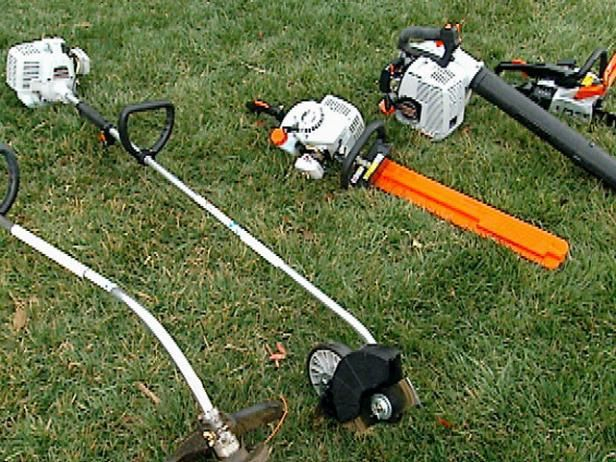 GAS LAWN EQUIPMENT SAFETY!