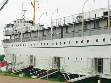 Theft reported from SS Keewatin in Port McNicoll