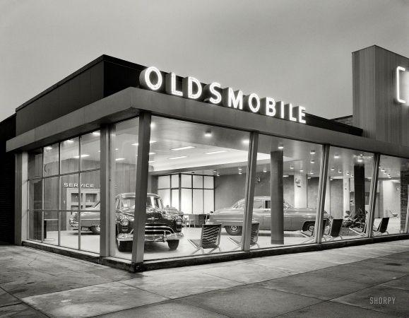 "Feb. 15, 1950. New York. ""Crystal Motors, business at 5901 Bay Parkway, Brooklyn."""