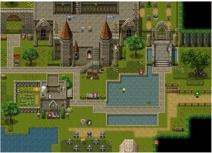 154 best RPG maps images on Pinterest  Rpg maker Pixel art and
