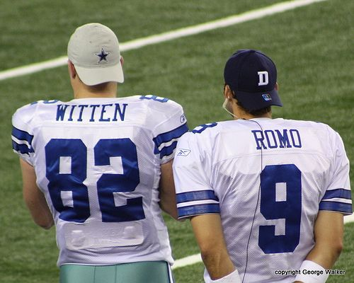 Jason Witten and Tony Romo... Dallas Cowboys :)