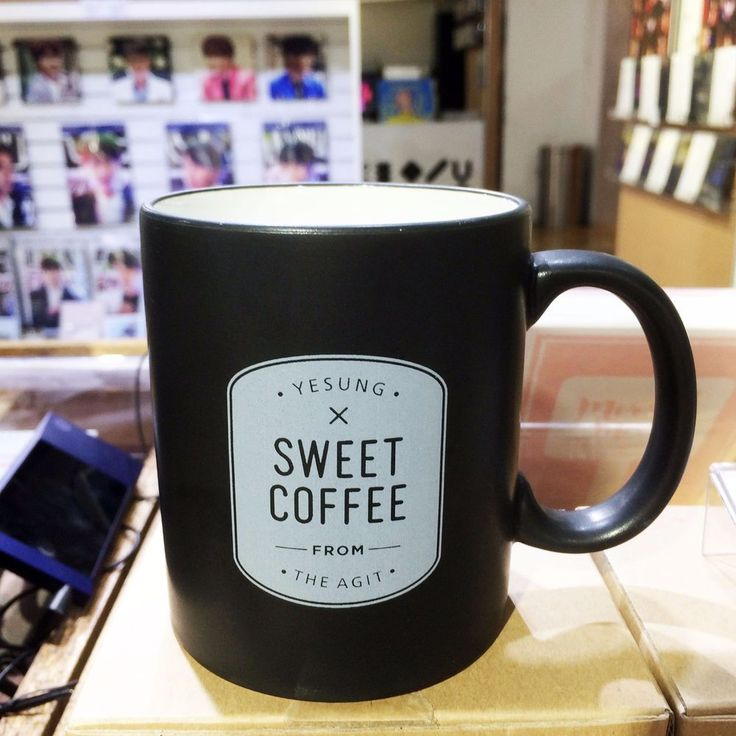 """Super Junior Yesung """"Sweet Coffee"""" SM Coex THE AGIT Official Mug"""