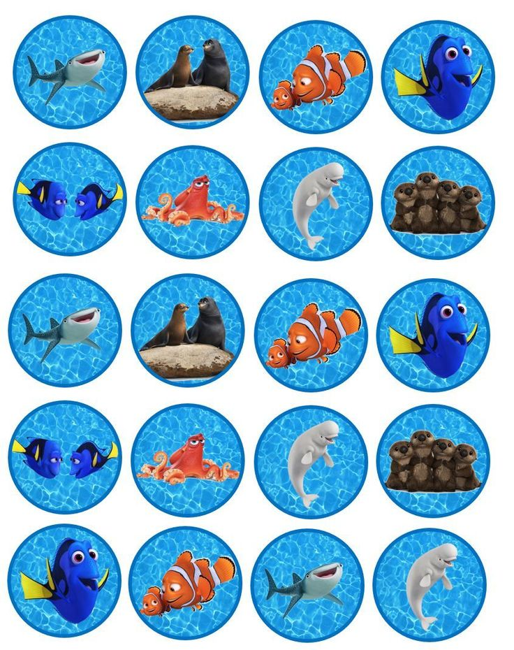nemo cake template - 234 best images about finding dory printables on pinterest