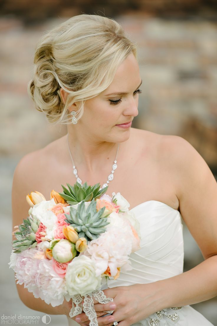 Gorgeous Bridal Bouquet | Nicollet Island Pavilion Wedding with Stacey & Nick | Daniel Dinsmore Photography