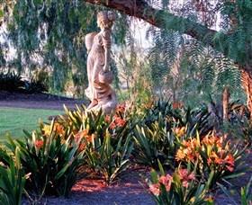 Gardens at I Villini,Lovedale,Hunter Valley,