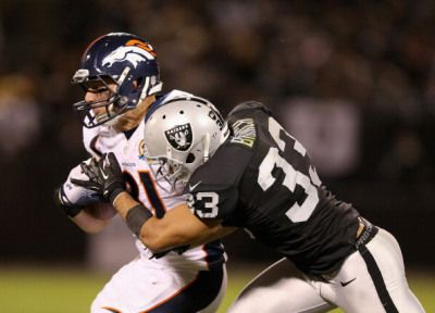 Tyvon Branch Only Injury that Could Hurt Raiders Against the Broncos « CBS San Francisco