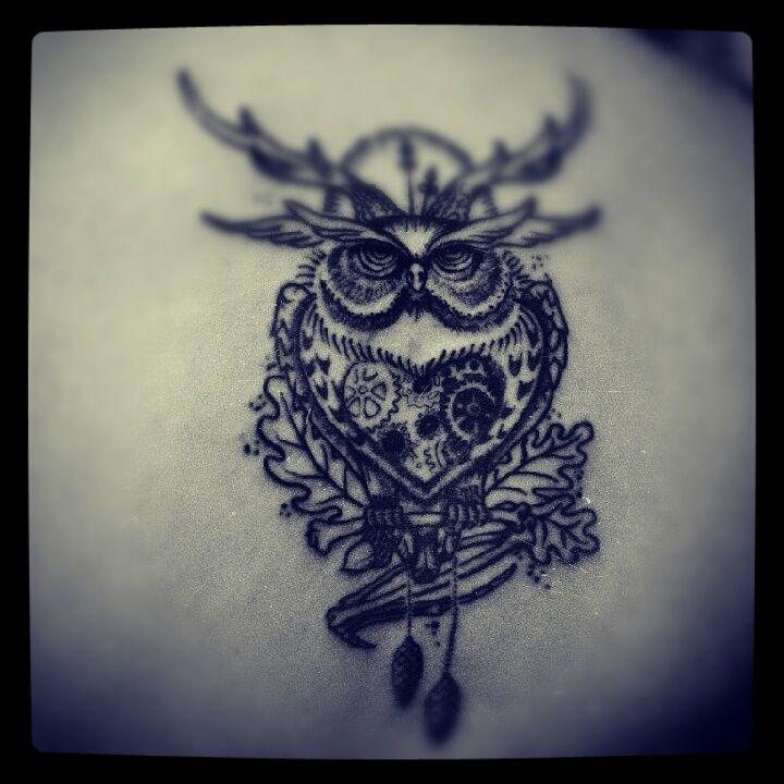 owl in progress by ~ABYSS-TAT-2S