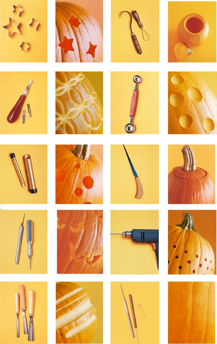 Pumpkin Carving Tools  - www.marthastewart.com