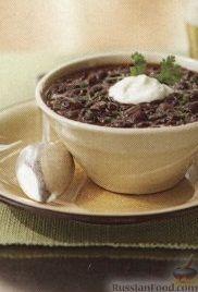Фасолевый суп, приготовленный в медленноварке