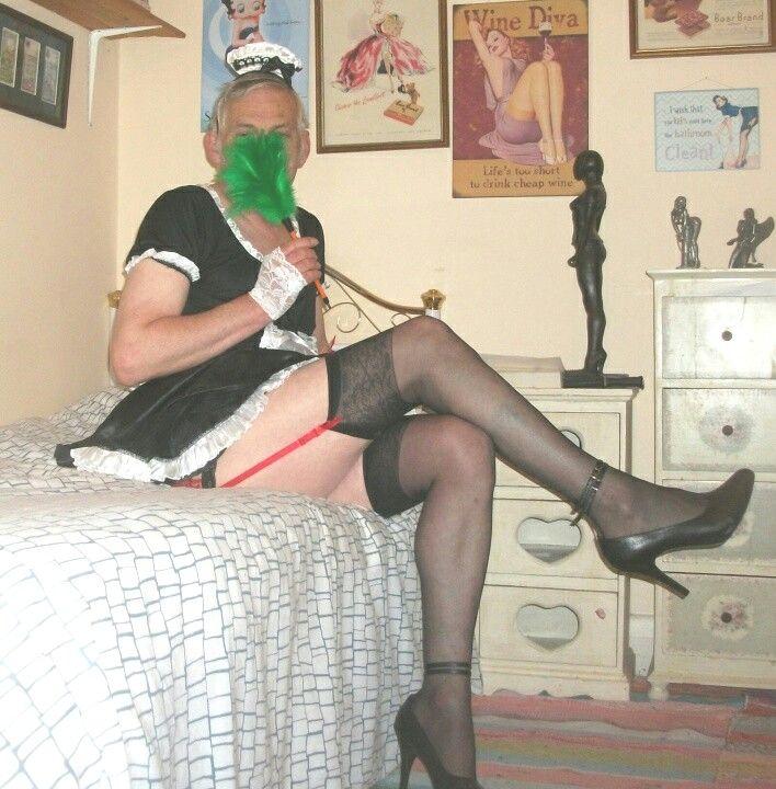 Cross dressing fetish photo