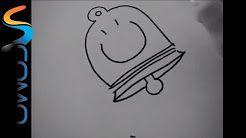 como hacer dibujos navideños faciles - YouTube