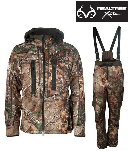The Sweet Spot Softshell Jacket and Pants by Gander Mountain are ideal for the active hunter who refuses to stop when temperatures drop. #RealtreeXtra #Realtreecamo