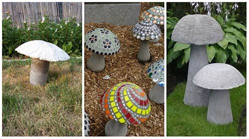 How To Make Awesome Concrete Mushrooms