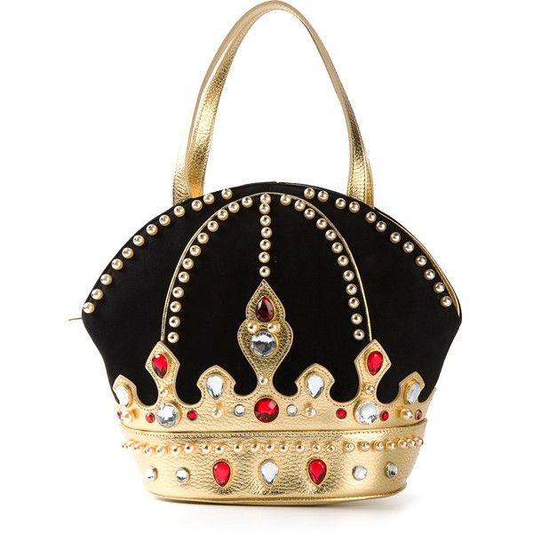 BRACCIALINI VINTAGE crown handbag (£410) found on Polyvore