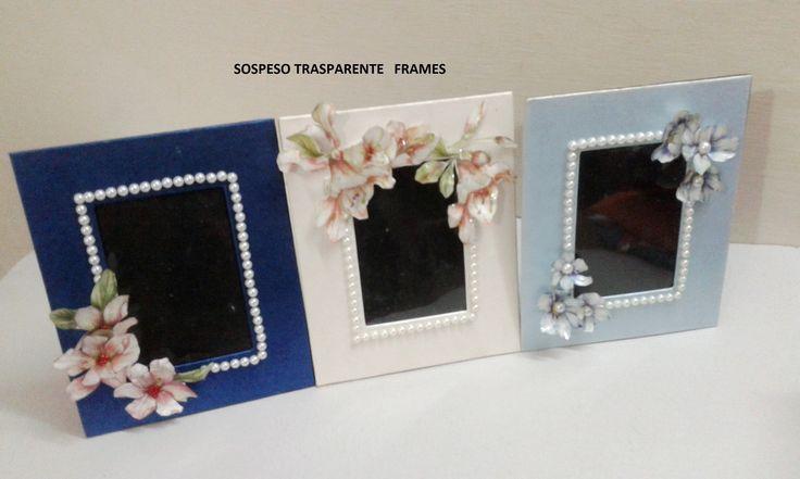 Sospeso Trasparente photo frames