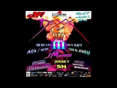 Dexx on fire III – Glam hard 'n heavy – A.O.R party στο Bat city club 24/1