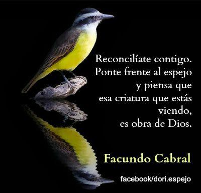 Reconcíliate contigo, de Facundo Cabral.