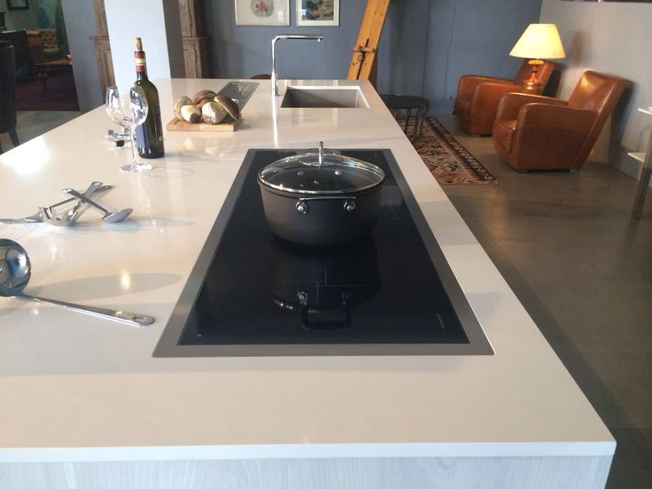 Piano #cucina in #Okite 1663 Bianco Classico #kitchen #worktops ...