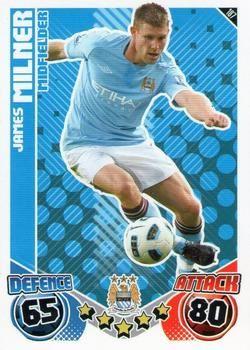 2010-11 Topps Premier League Match Attax #187 James Milner Front