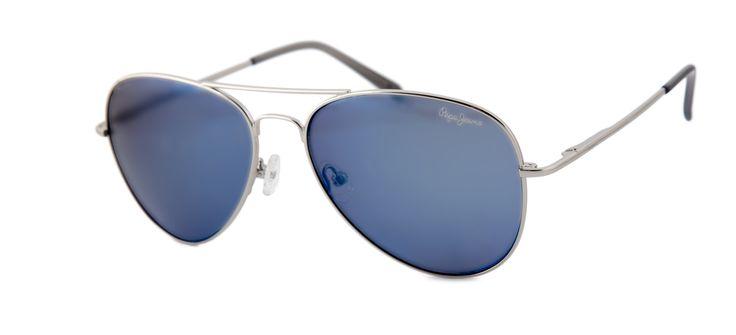 Gafas de sol de estilo aviador de Pepe Jeans para Opticalia.