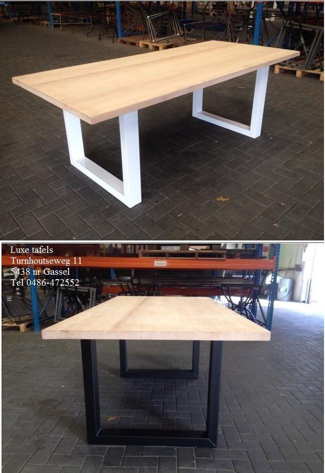 Los onderstel tafel tafels pinterest - Tafels knoll ...