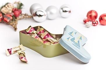 Weihnachtsdosen - Mediendosen, Blechdosen, Weißblechdosen, Metallverpackungen - Dosenspezialist GmbH [tinplate packaging]