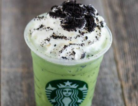 Thin Mint Frappuccino - Starbucks Secret Menu
