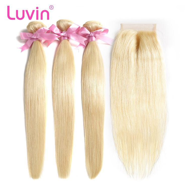 Luvin Straight 8- 28 Inch 3 4 Bundles Brazilian Re…