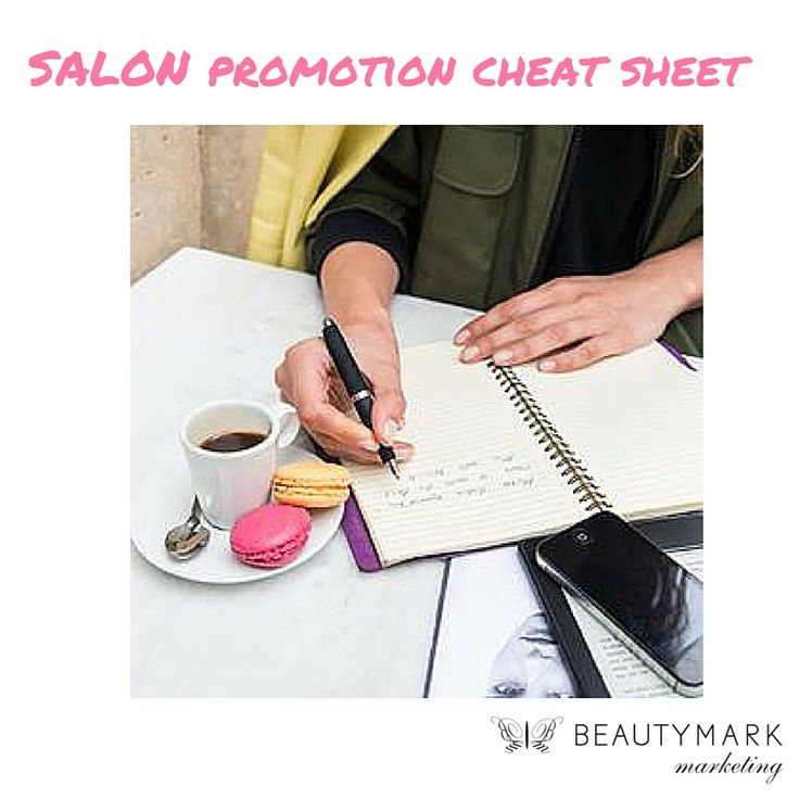 Best retailing practices state that salon owners and managers should start planning promotions about three months in advance. While it's not hard to put together packages or tailored retail displays, you can't do it last-minute. #salonpromotioncheatsheet
