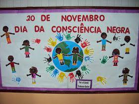 Ensinando com Carinho: Painéis para a Consciência Negra Mais